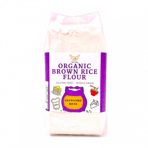 4. ORGANIC BROWN RICE FLOUR