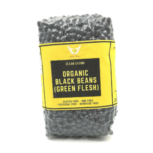 81. ORGANIC BLACK BEAN GREEN KERNEL