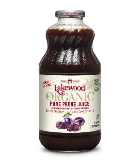 LAKEWOOD Organic PURE Prune JUICE