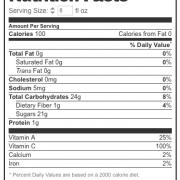 NF LAKEWOOD Organic PURE Pink Grapefruit