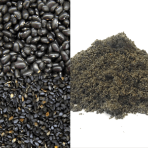 black bean sesame powder