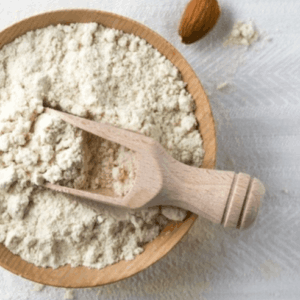 organic almond powder