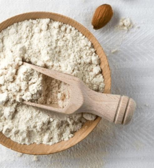organic almond powder
