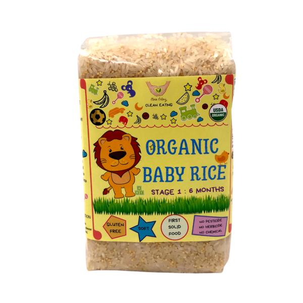 CE_Organic Baby Rice Stage 1_6M 500g