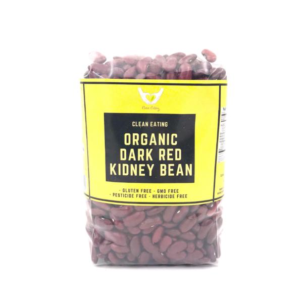 CE_Organic Dark Red Kidney Bean 500g