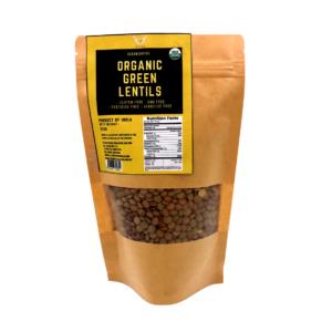 CE_Organic Green Lentils 200g