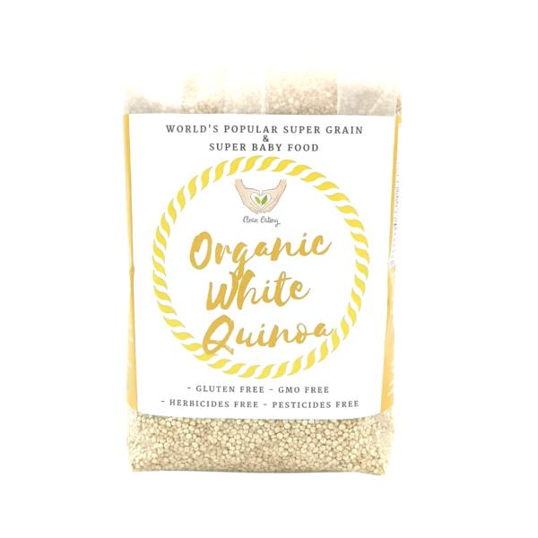 CE_Organic White Quinoa 500g