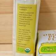 Clean Eating Organic Plain Flour Unbleached High Protein
