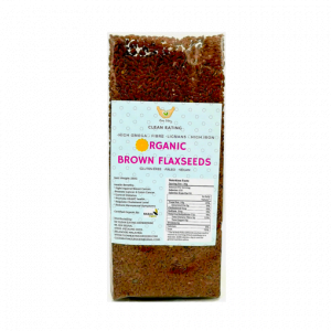 69. ORGANIC BROWN FLAXSEED