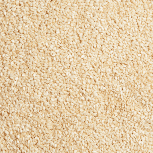 ORG WHITE SESAME SEEDS