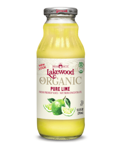 LAKEWOOD PURE ORGANIC LIME JUICE