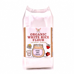 11. ORGANIC WHITE RICE FLOUR